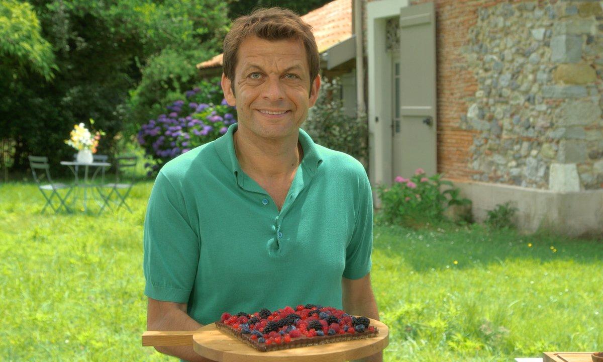 Tarte chocolat - Fruits rouges vegan