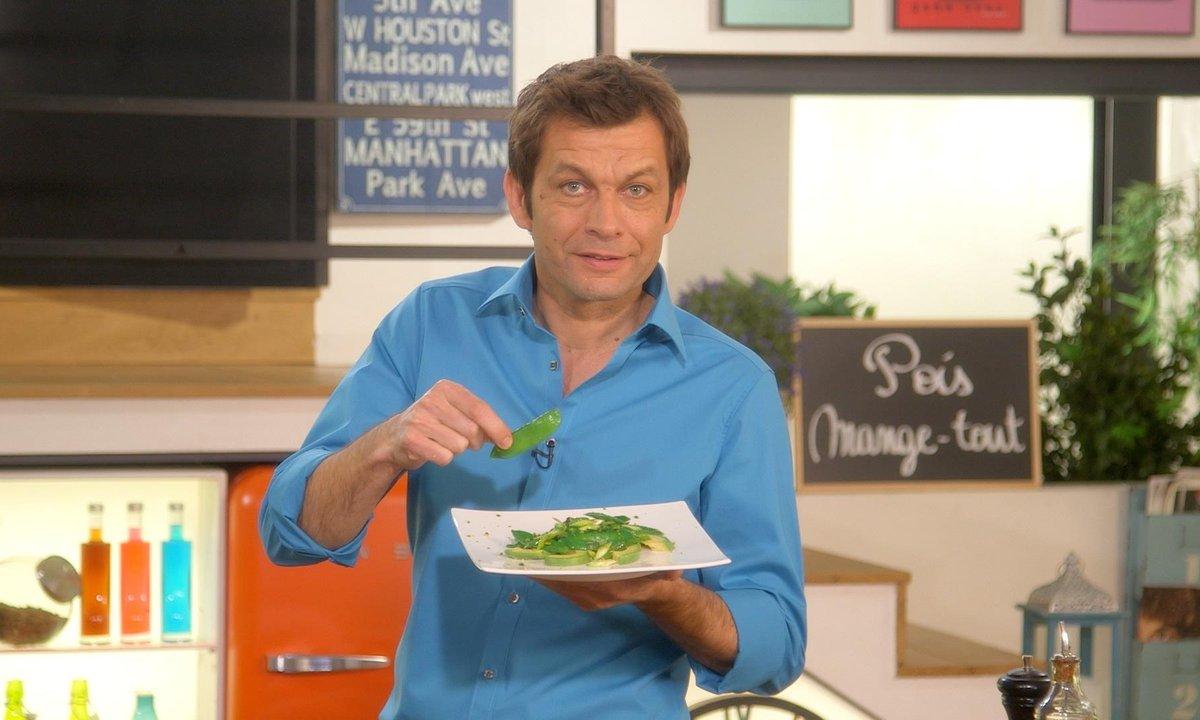 Salade verte de printemps