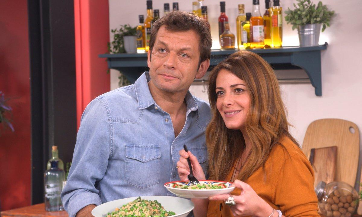 Taboulé de légumes verts avec Elsa Fayer