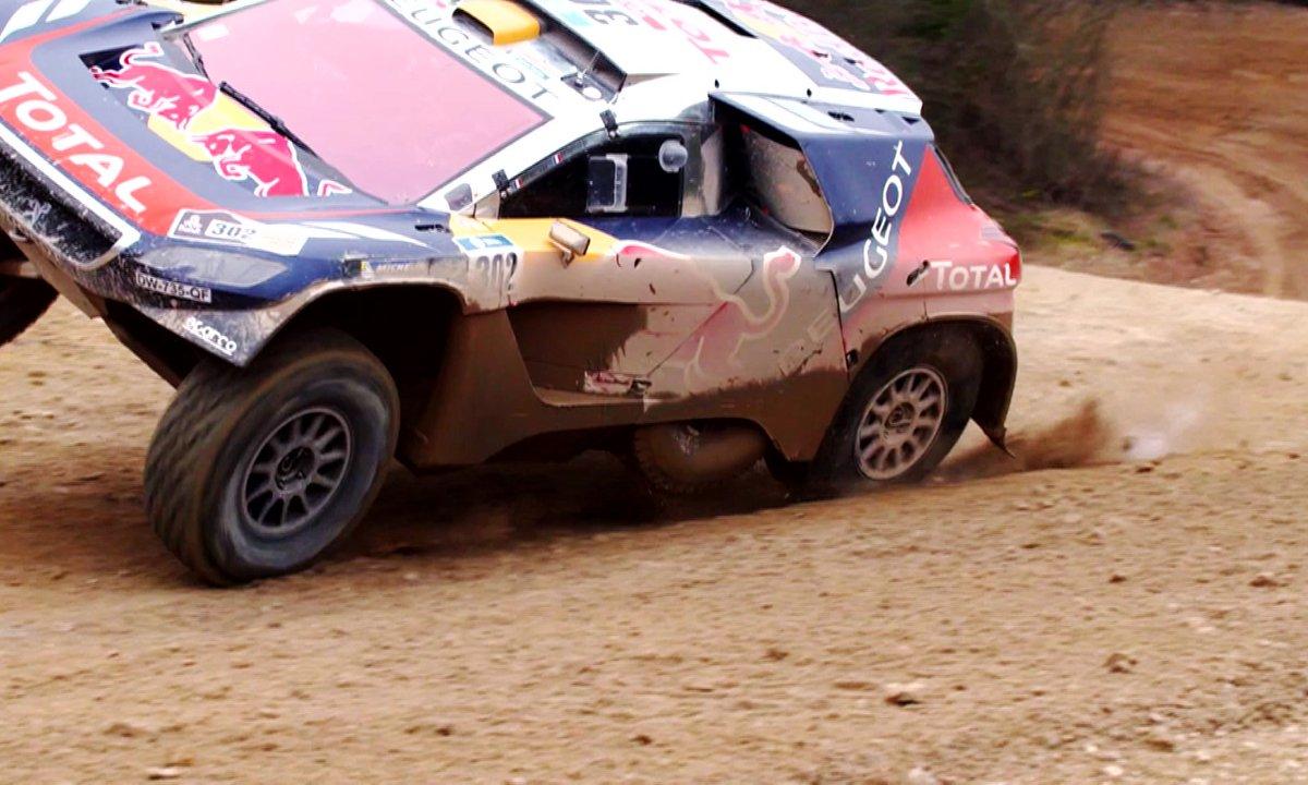 Teaser : la Peugeot 2008 DKR dans Automoto