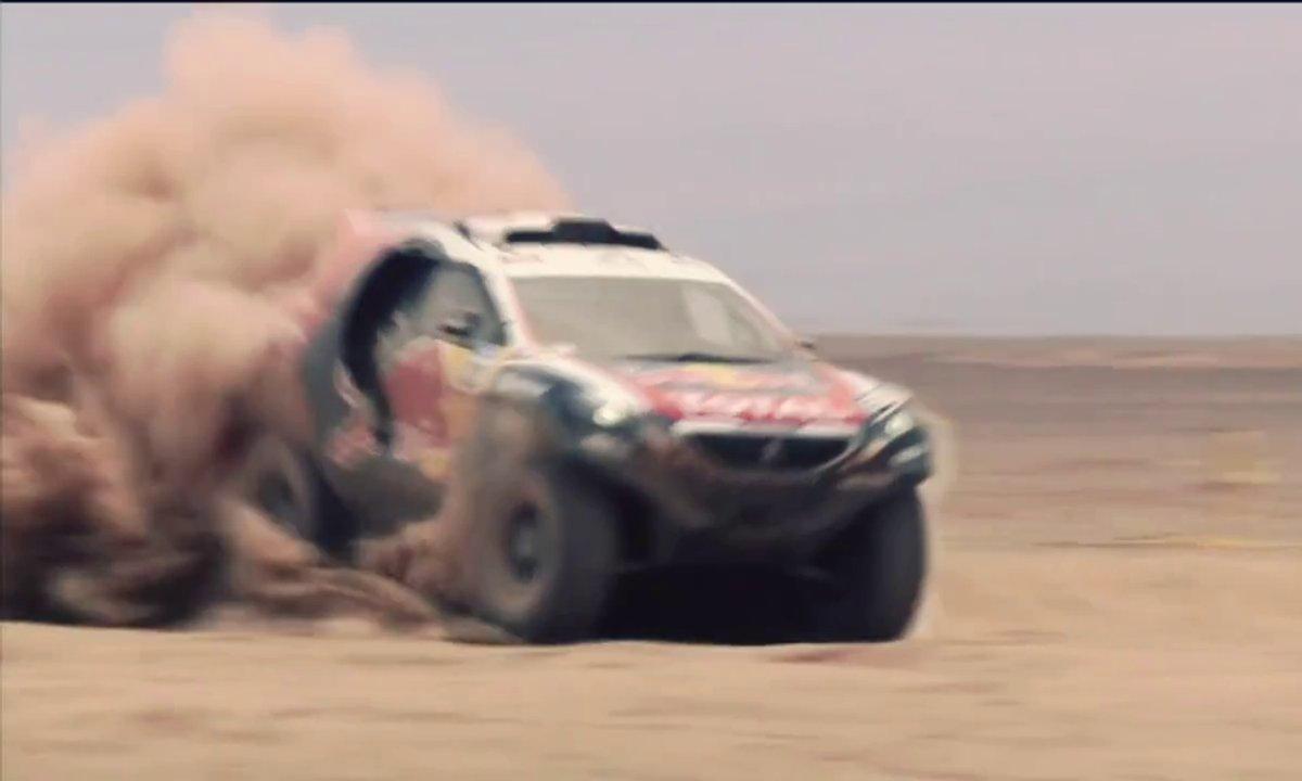Retour sur le Dakar 2015 à bord du Peugeot 2008 DKR !