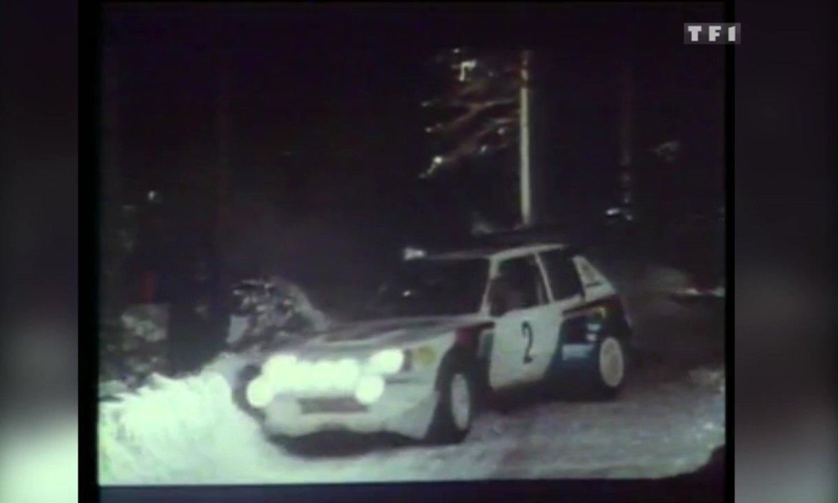 La Peugeot 205 Turbo 16 en action au Rallye Monte-Carlo – Automoto 22 novembre 1986