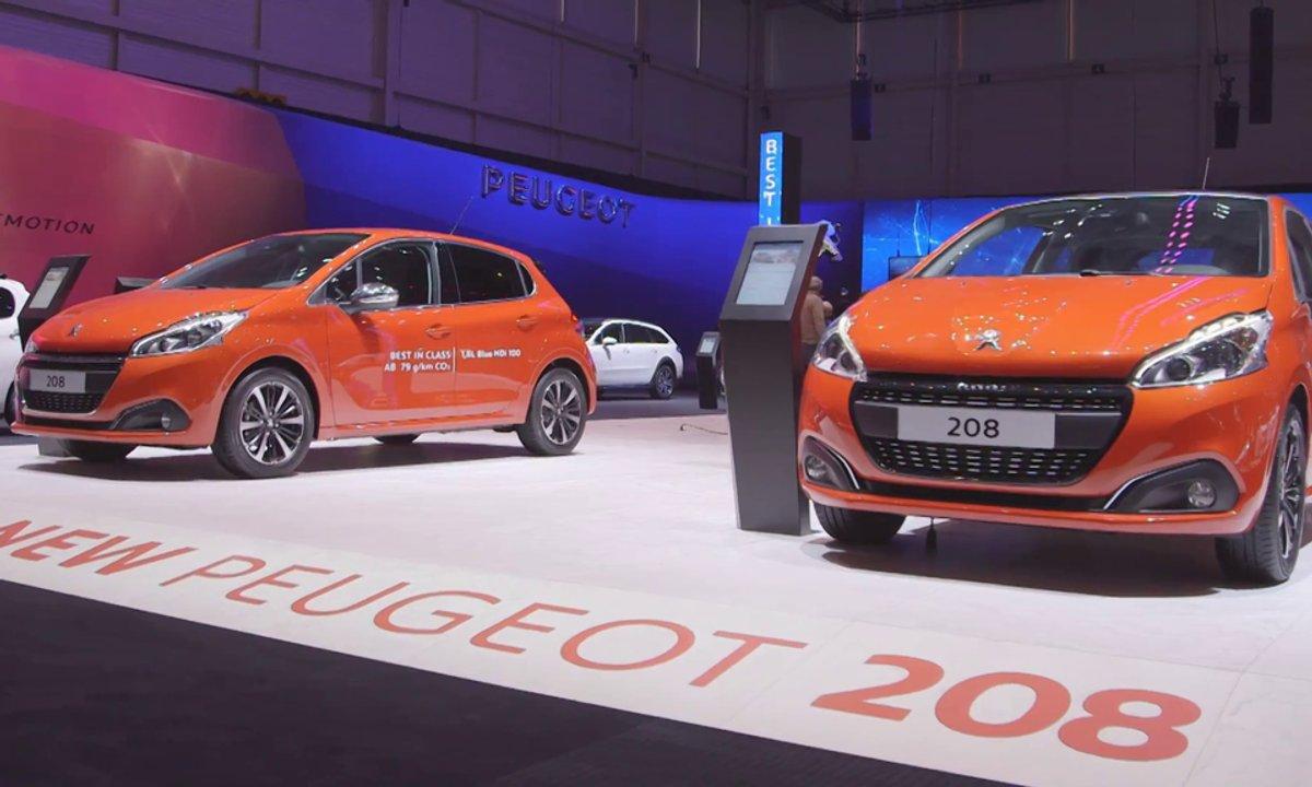 Les nouveautés Peugeot au Salon de Genève 2015