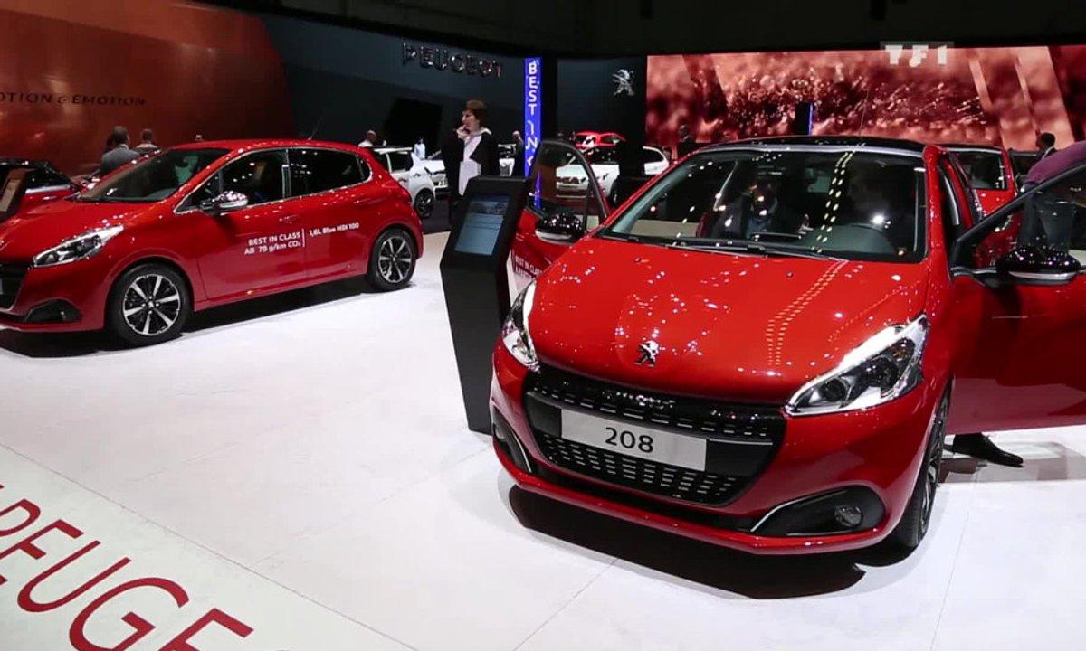 La Peugeot 208 restylée au Salon de Genève 2015