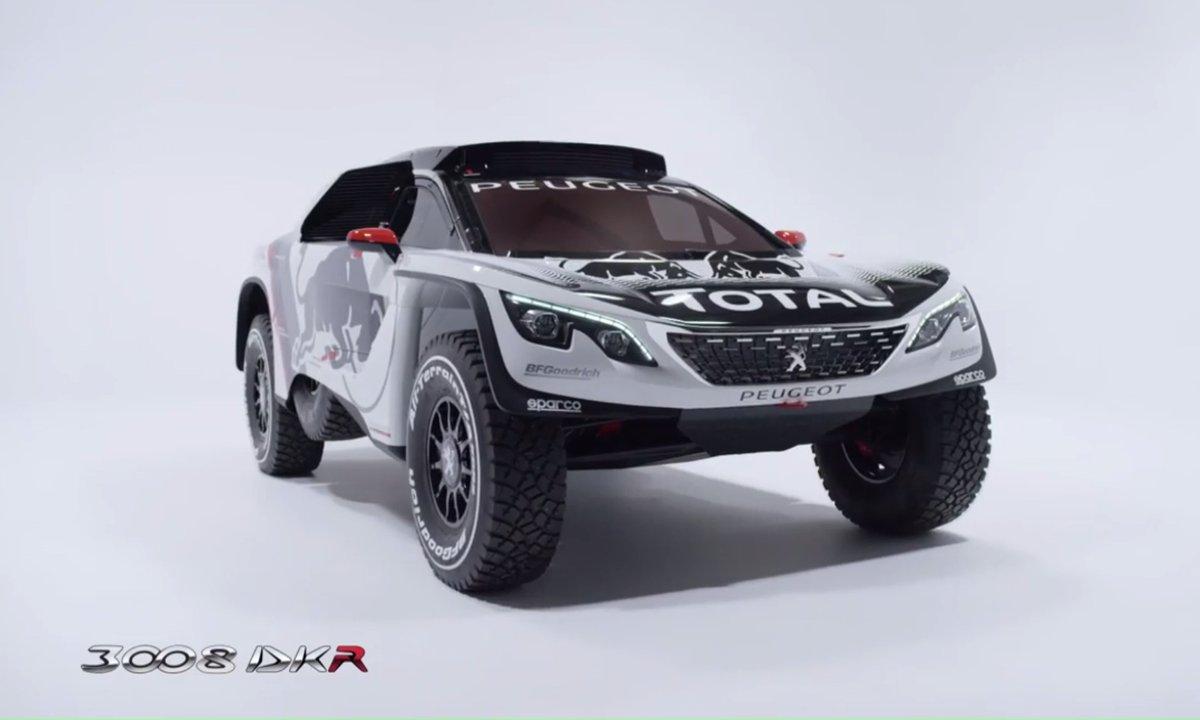 Peugeot dévoile le 3008 DKR pour le Dakar 2017