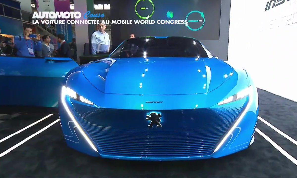 Actu : L'Automobile du futur au Salon du mobile de Barcelone