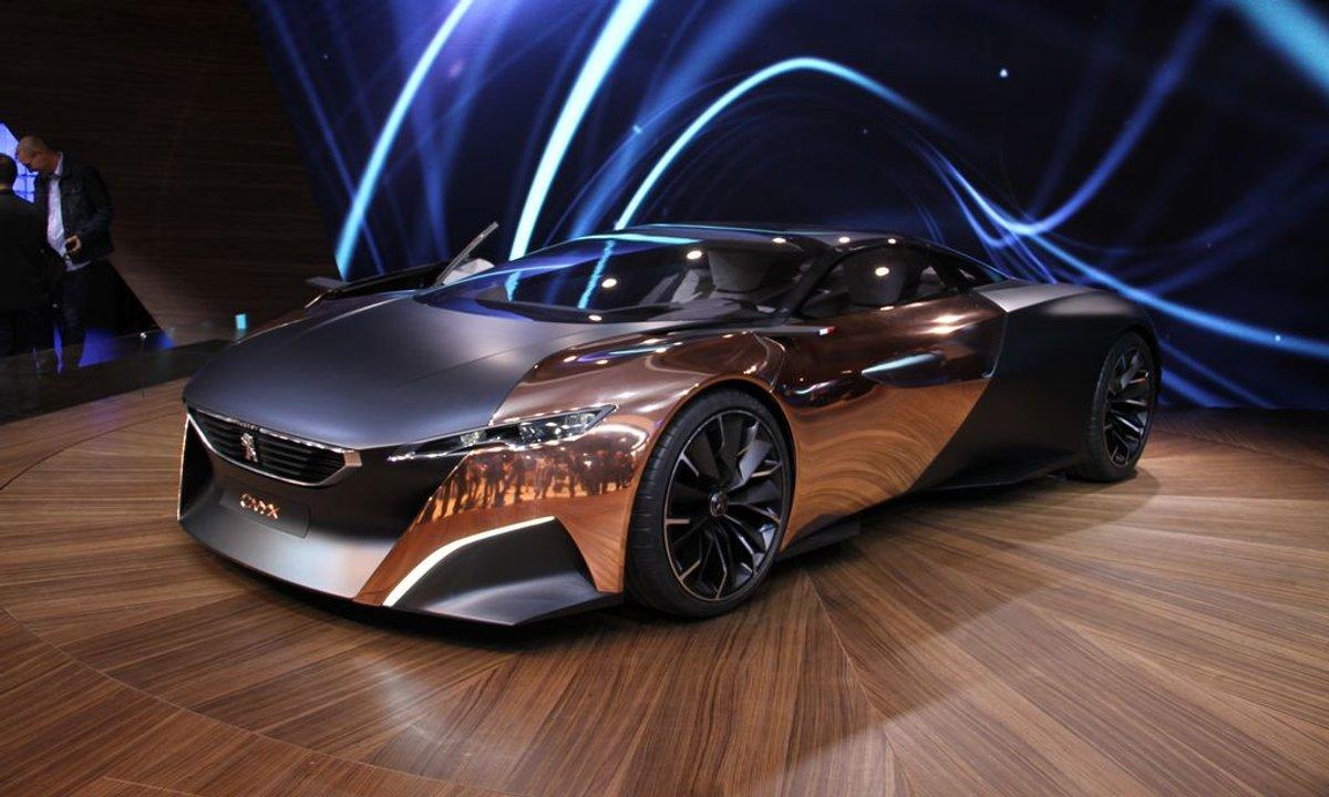 Mondial de l'Auto 2012 : Peugeot ONYX, LE concept du Salon ?