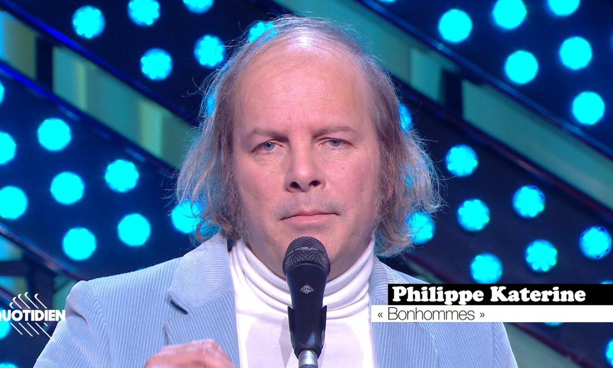 """Philippe Katerine : """"Des bonhommes"""" en live pour Quotidien (exclu web)"""
