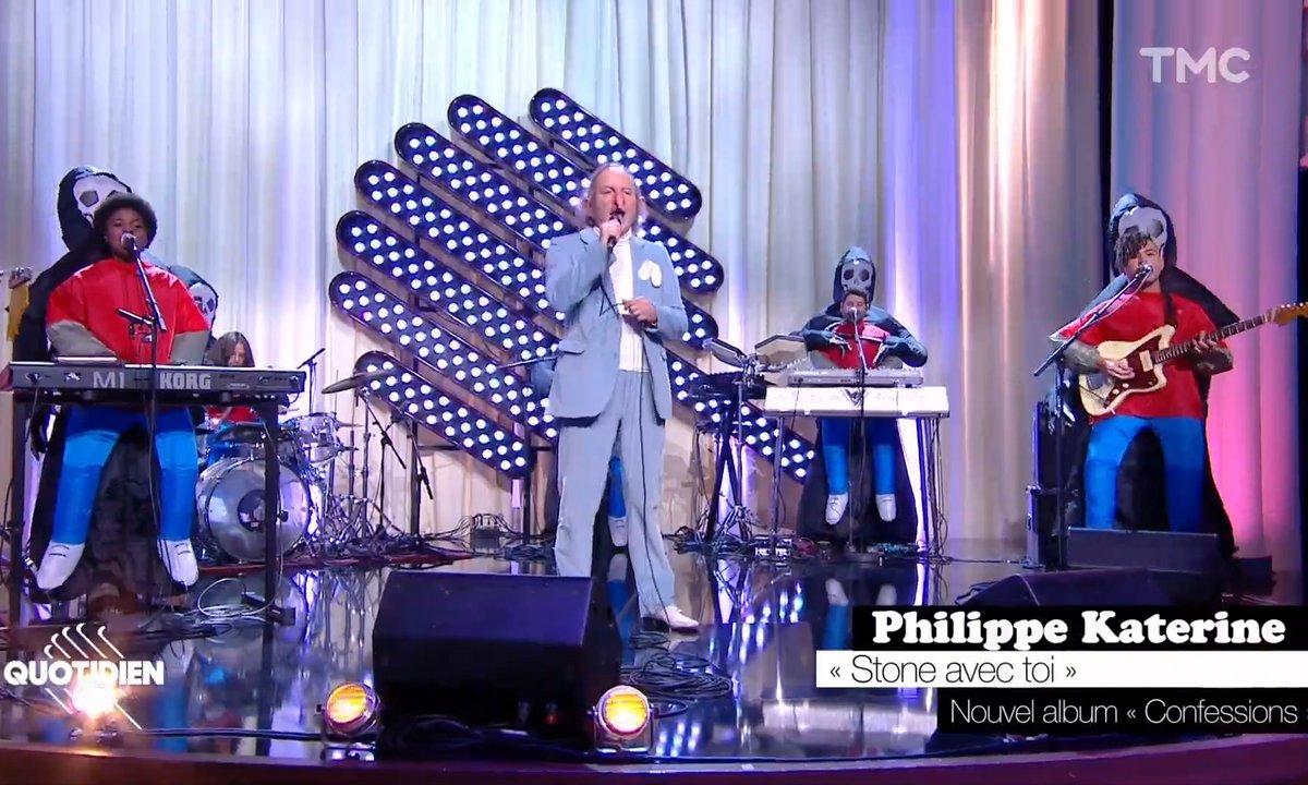 """Philippe Katerine : """"Stone avec toi"""" en live pour Quotidien"""