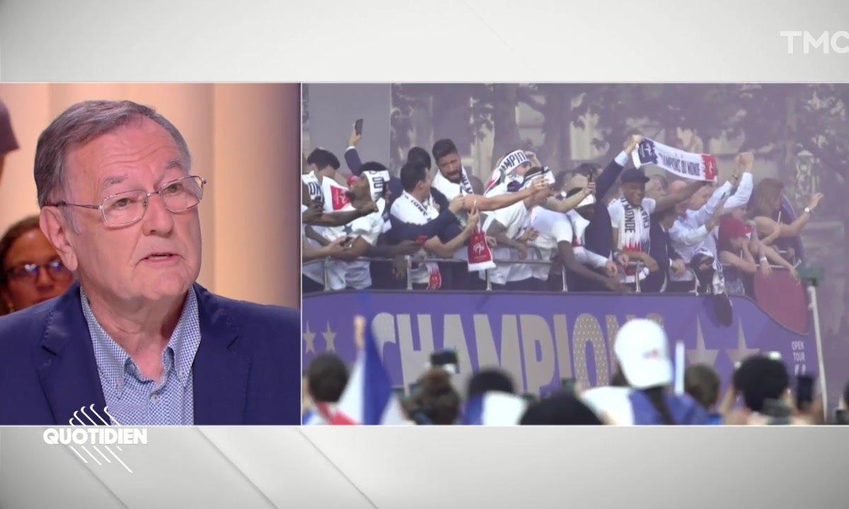 """Philippe Tournon à propos de la Coupe du monde : """"C'est Benalla qui l'avait et nous on la cherchait partout !"""""""