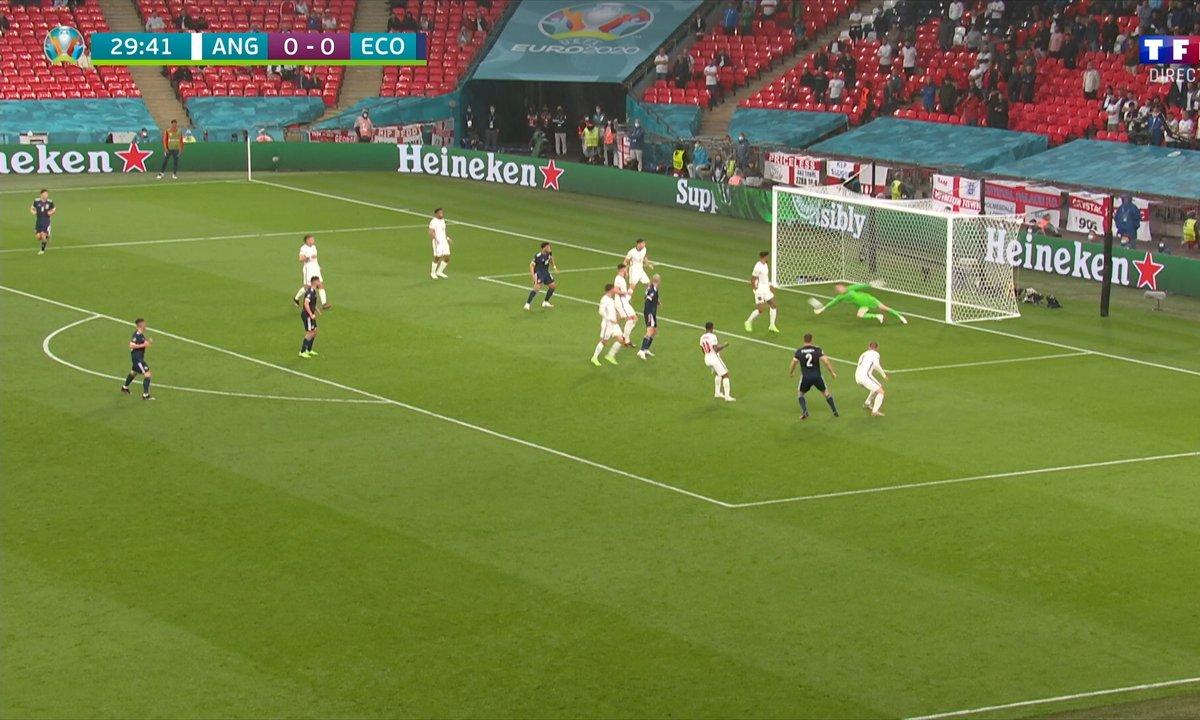 Angleterre - Ecosse (0 - 0) : Voir l'occasion d'O'Donnell en vidéo