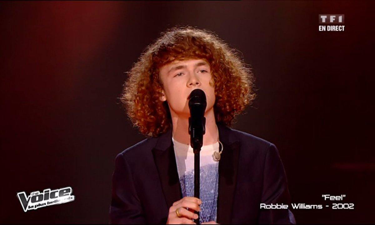 Pierre G. - Feel (Robbie Williams) (saison 02)