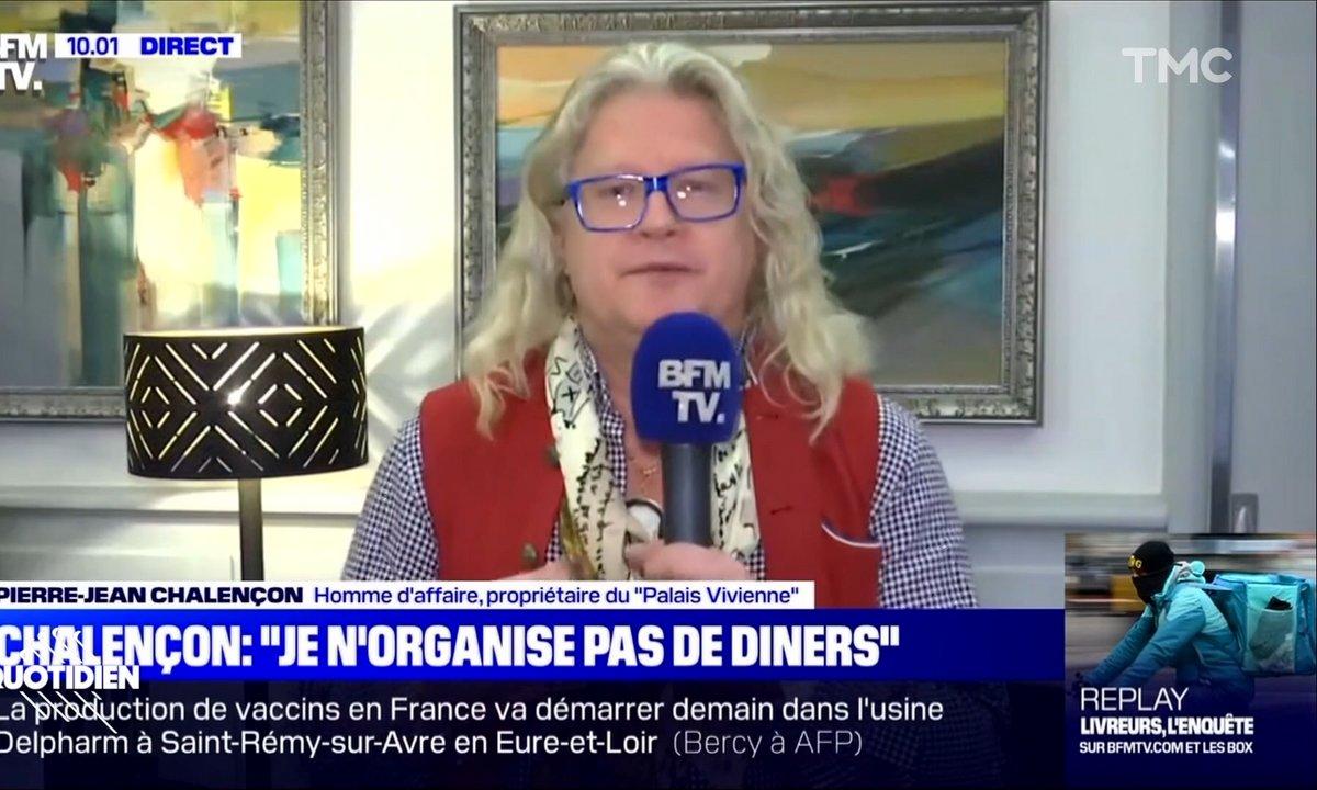 Dîners clandestins : la défense complètement ratée de Pierre-Jean Chalençon