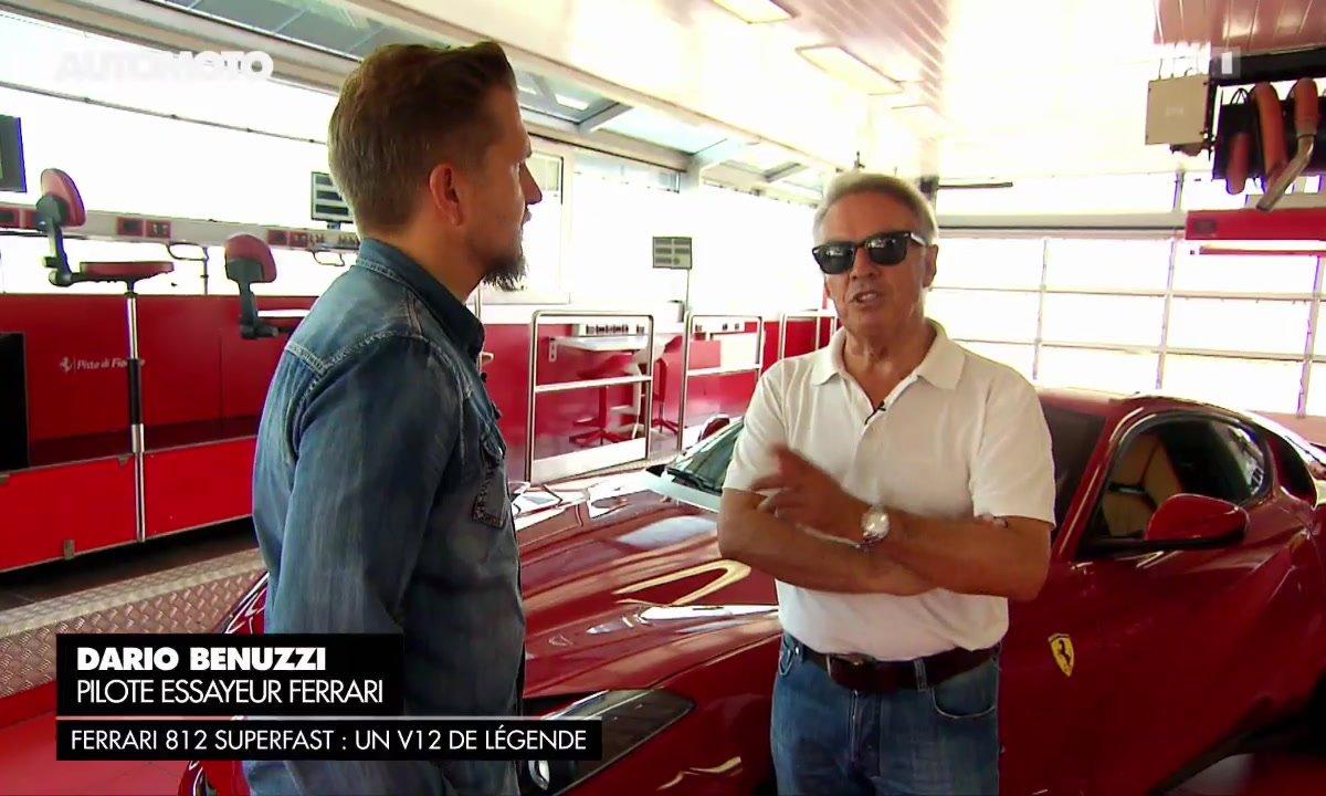 Entretien avec Dario Benuzzi, pilote essayeur de Ferrari