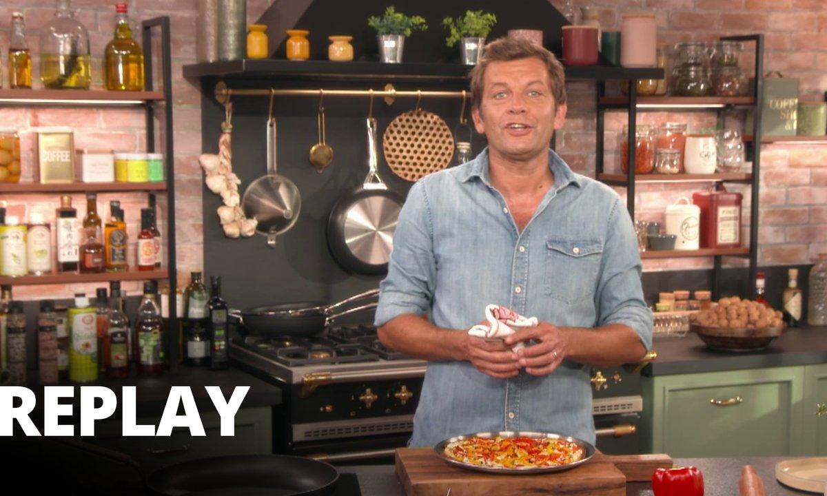 Pizza ricotta poivrons