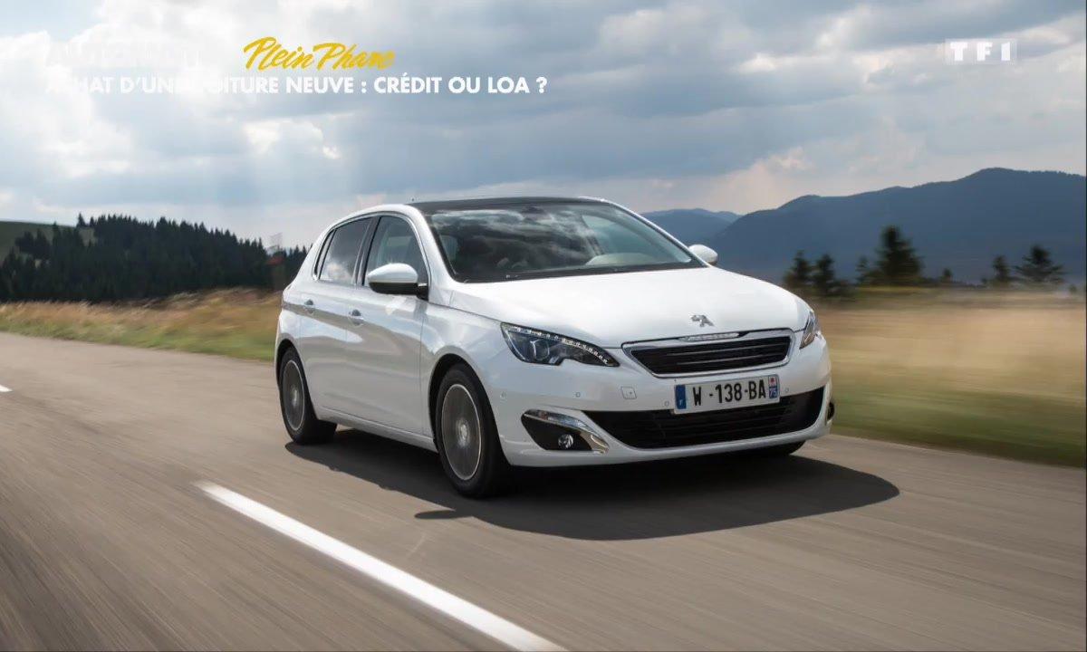 Plein Phare : Faut-il acheter sa voiture neuve en crédit ou LOA ?