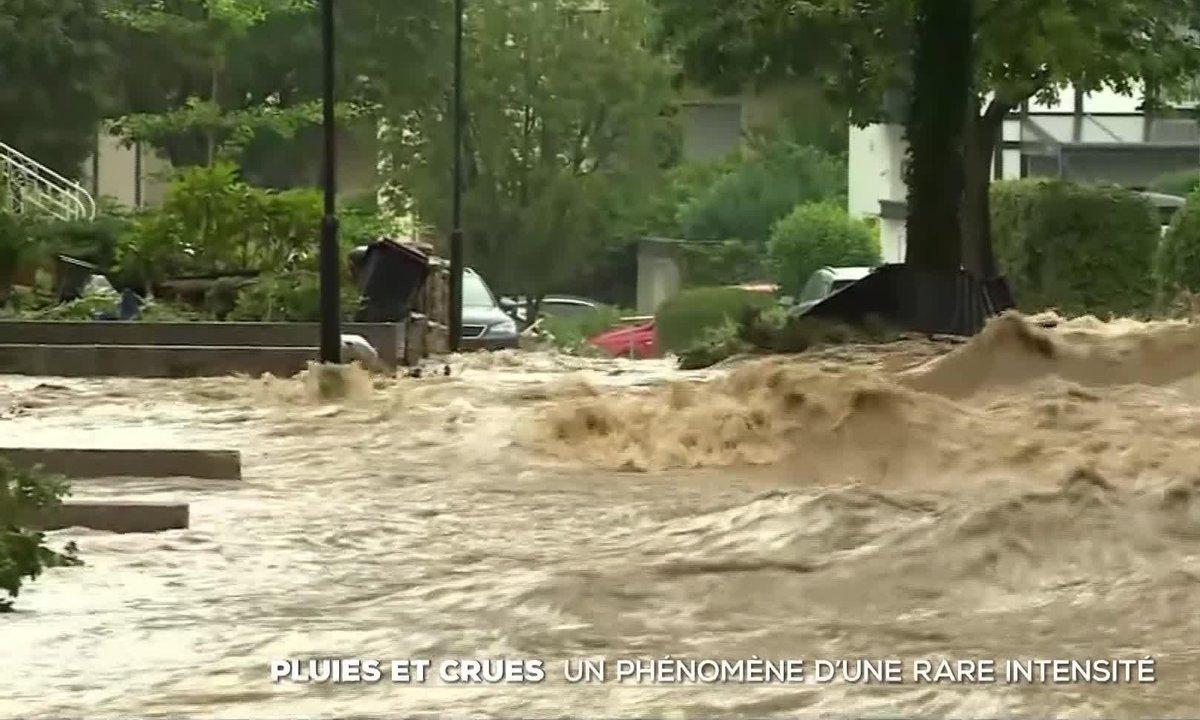 Pluies et crues : un phénomène météorologique d'une rare intensité