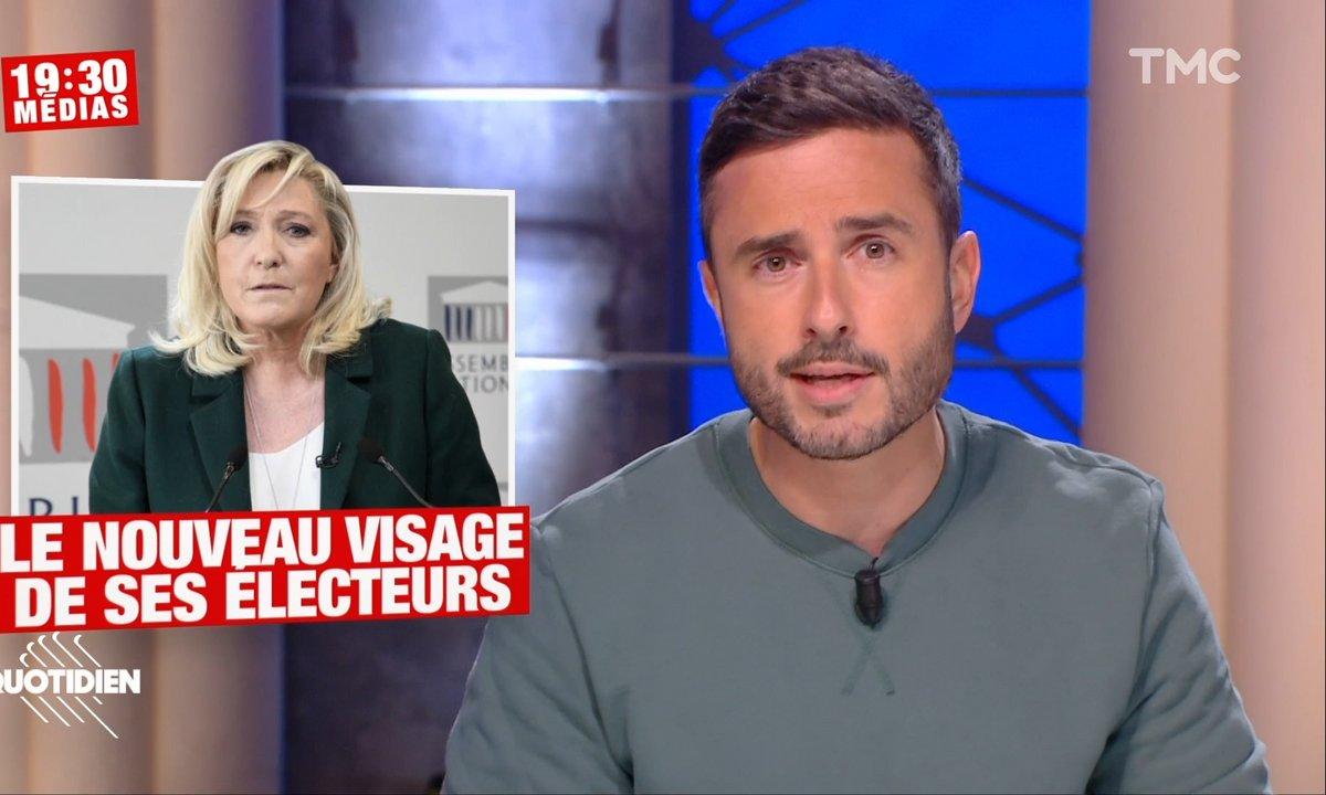 Plus féminin, plus jeune, plus ouvrier : comment l'électorat de Marine Le Pen s'est transformé