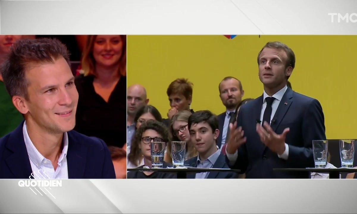 """Le gros défaut d'Emmanuel Macron ? """"Il est très bon comédien"""" d'après Gaspard Gantzer"""
