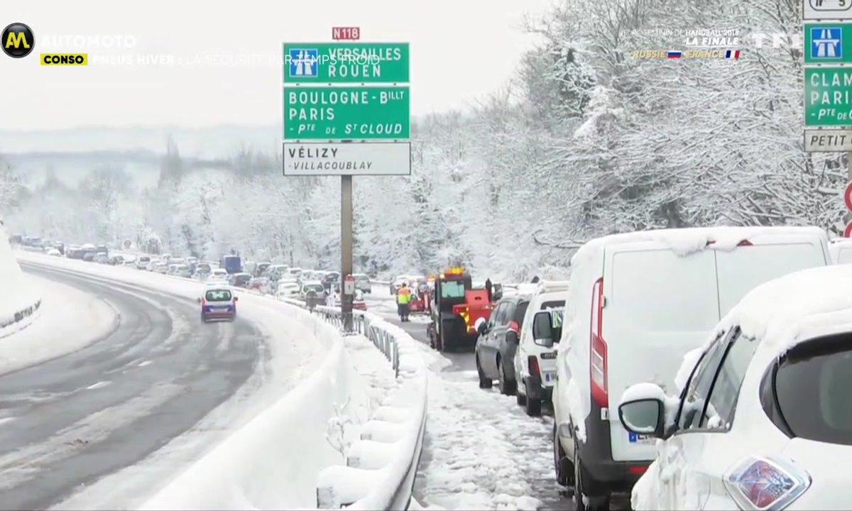 Conso - Pneus hiver : la sécurité par temps froid