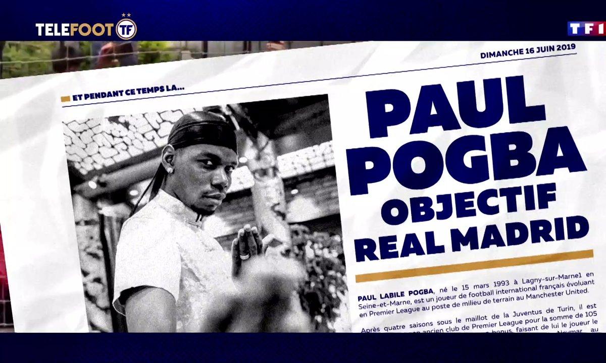 Hazard au Real, le PSG s'active, Griezmann proche du Barca, Pogba dans le viseur madrilène