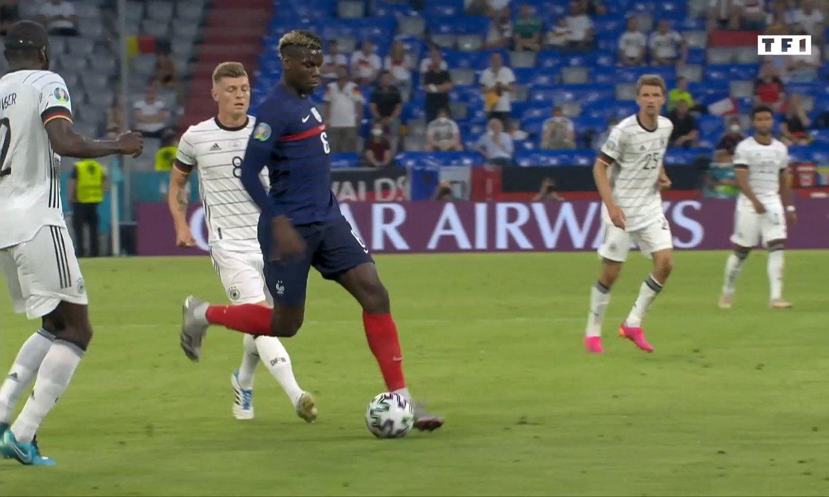 France – Allemagne : La passe ''décisive'' de Paul Pogba sous tous les angles