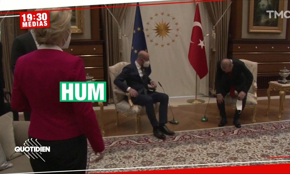 Polémique après l'attitude sexiste de Recep Tayyip Erdogan face à Ursula Von der Leyen