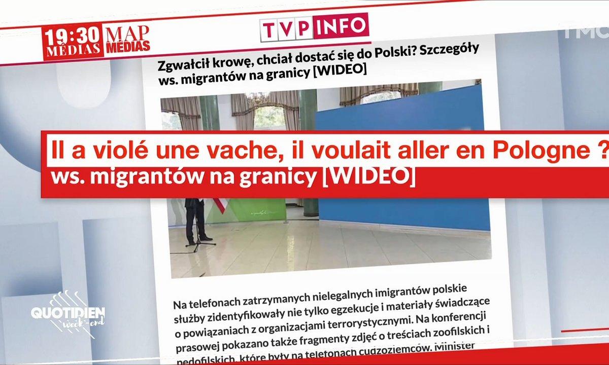 Pologne : le discours surréaliste anti-migrants du ministre de l'Intérieur