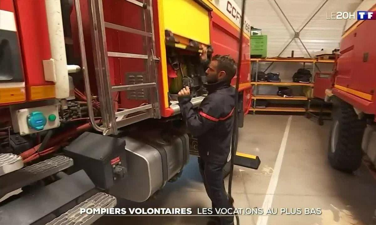 Pompiers volontaires : les vocations au plus bas