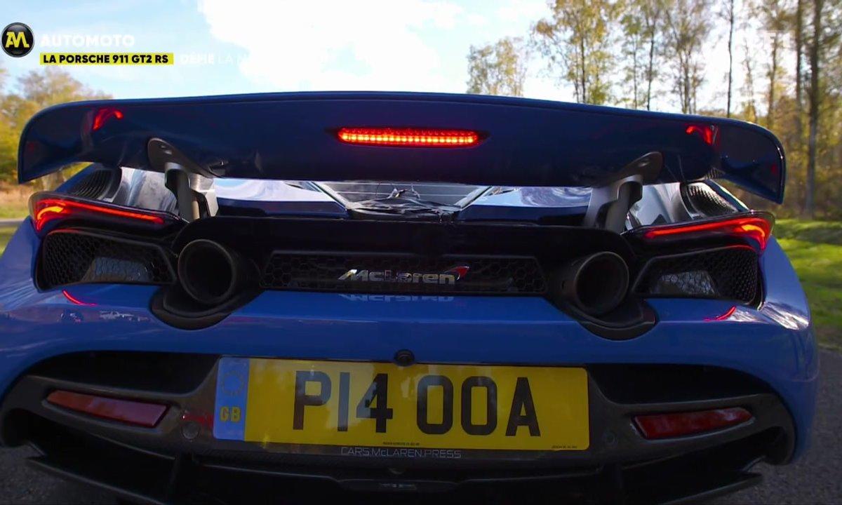 La Porsche 911 GT2 RS défie la McLaren 720 S