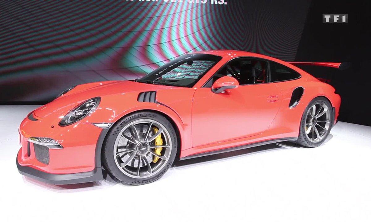 La Porsche 911 GT3 RS fait résister l'atmo au Salon de Genève 2015