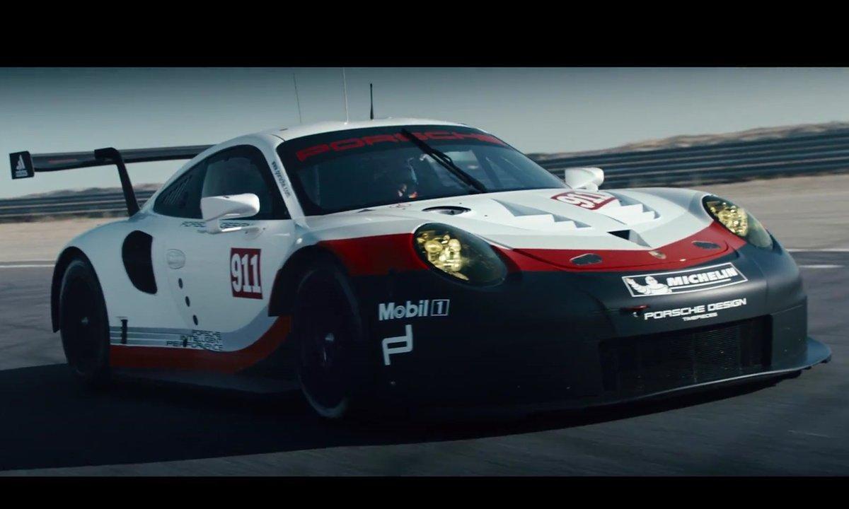 Porsche 911 RSR 2017 : présentation officielle