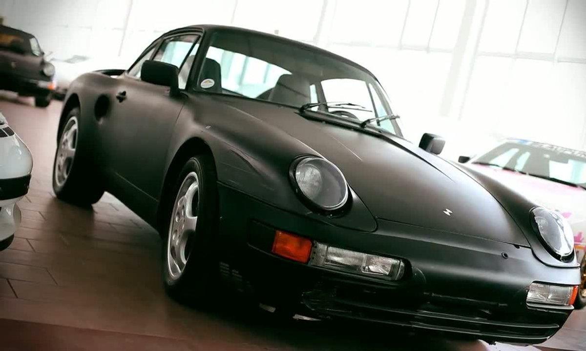 Insolite : une Porsche 911 Type 965 à moteur V8 !