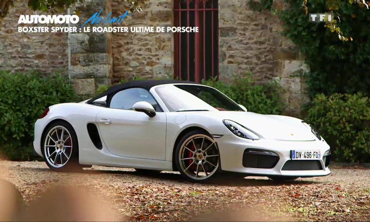 No Limit : Porsche Boxster Spyder à l'essai sur circuit