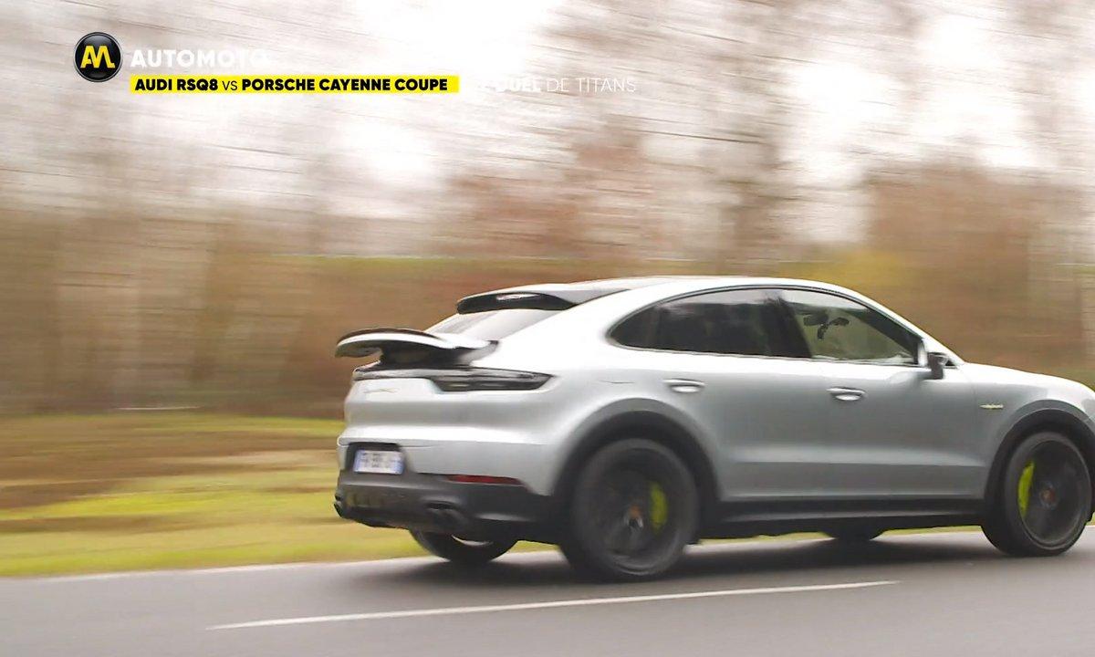 Duel : Audi RSQ8 vs Porsche Cayenne Turbo Hybrid