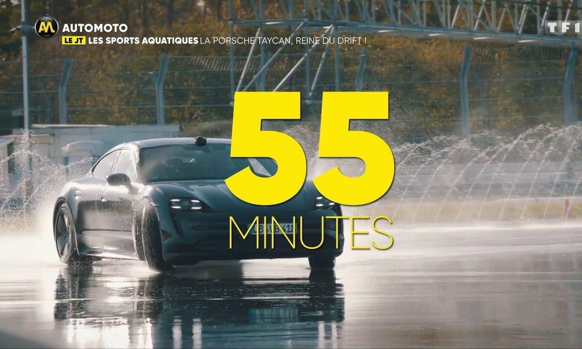VIDEO - La Porsche Taycan, reine du drift !