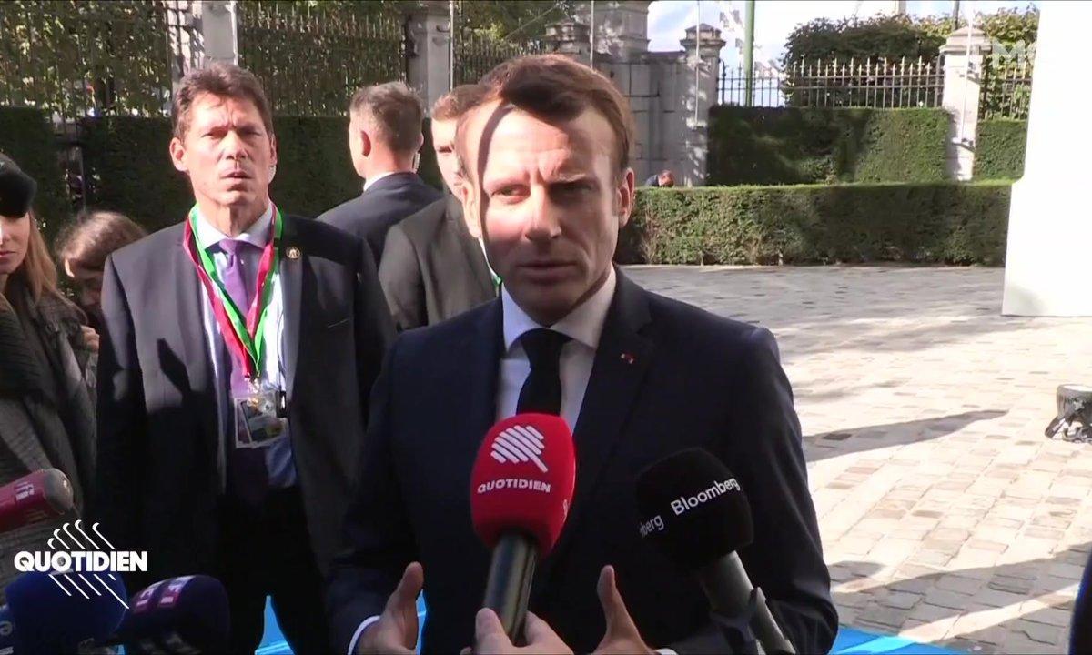 """Port du voile : pour Emmanuel Macron, """"l'erreur est de confondre tous les sujets"""""""