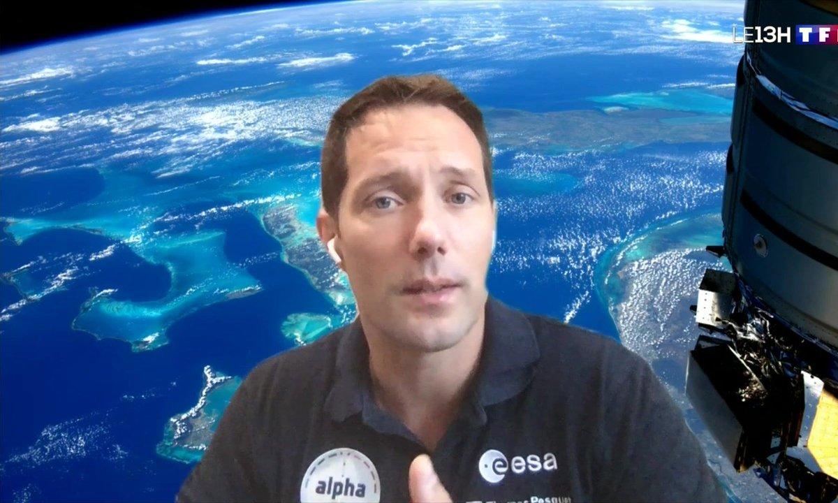 Portrait de Thomas Pesquet avant son départ pour l'ISS