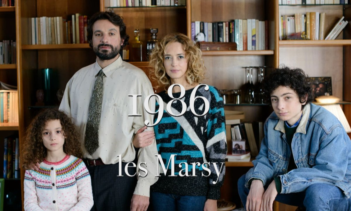 Le portrait de la famille Marsy : 1986