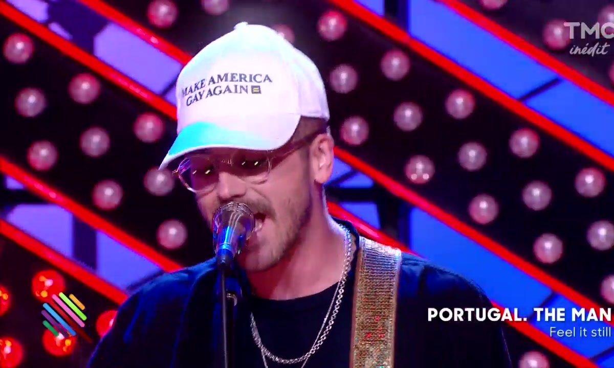 """Portugal The Man - """"Feel it still"""" en live sur le plateau de Quotidien"""