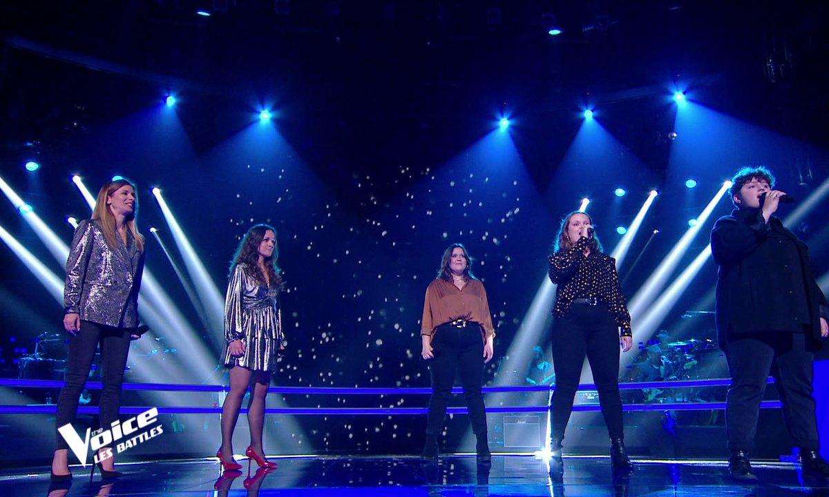 "The Voice 2021 - Canta Diva VS Pottok on the Sofa chantent ""Bicycle race"" de Queen"
