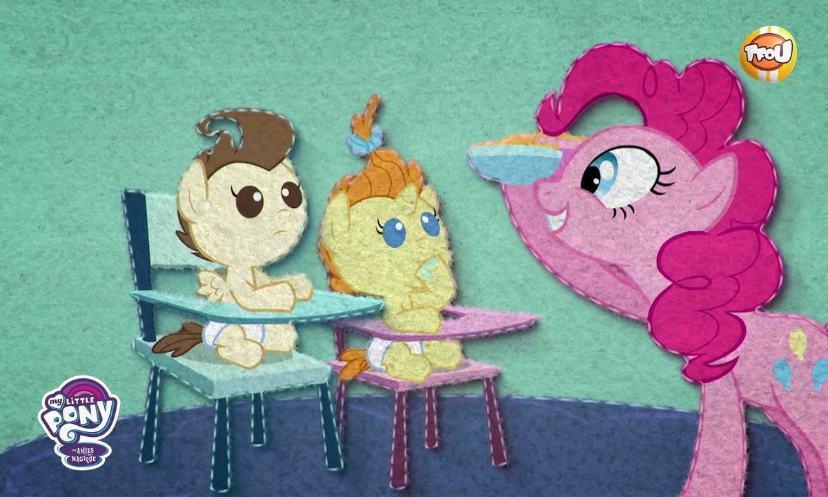 My Little Pony, les amies c'est magique - Webépisode 2 - Le poulain-sitting