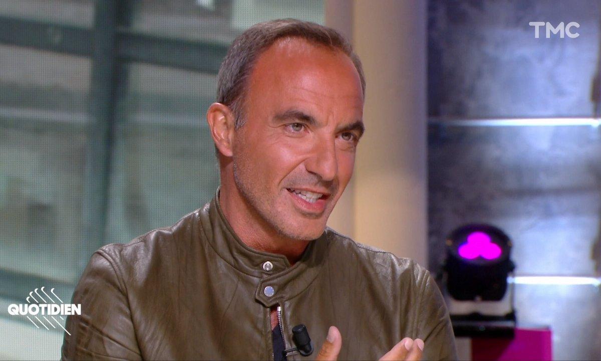 """""""Pourquoi je vis"""" : Nikos Aliagas raconte à quelle conditions il a accepté de participer au biopic sur Gregory Lemarchal"""