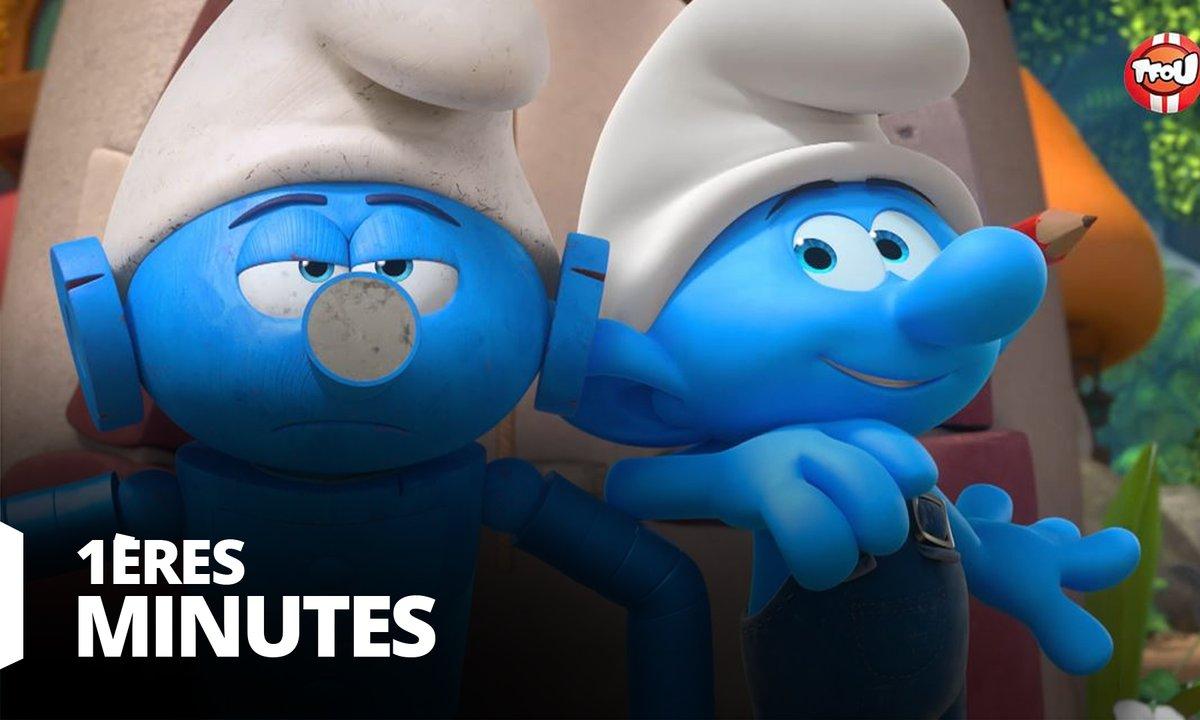 Les Schtroumpfs - Robot-Nounou - Premières minutes