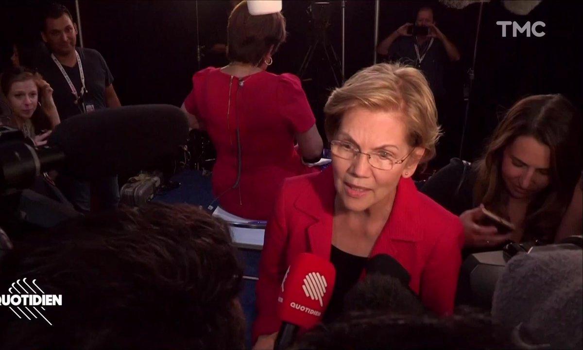 Primaire américaine : les coulisses du débat des candidats démocrates