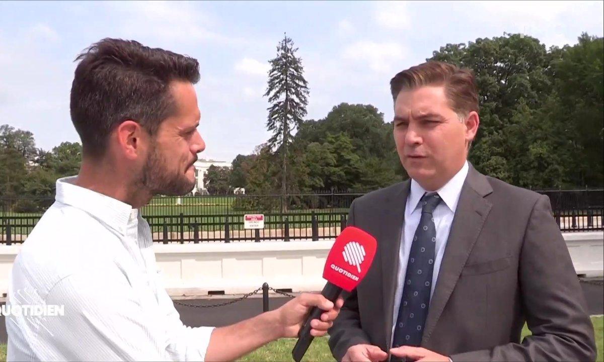 Primaires américaines : rencontre avec le journaliste Jim Acosta, pire ennemi de Trump