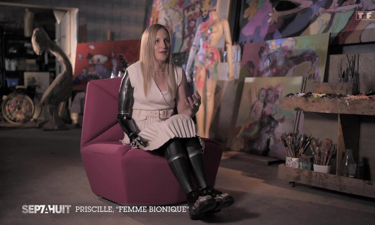 Priscille Déborah, la première Française bionique