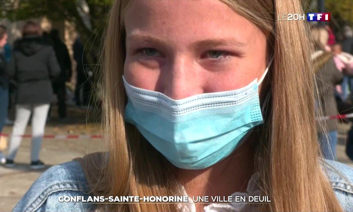 Professeur assassiné : l'émotion ne retombe pas à Conflans-Sainte-Honorine