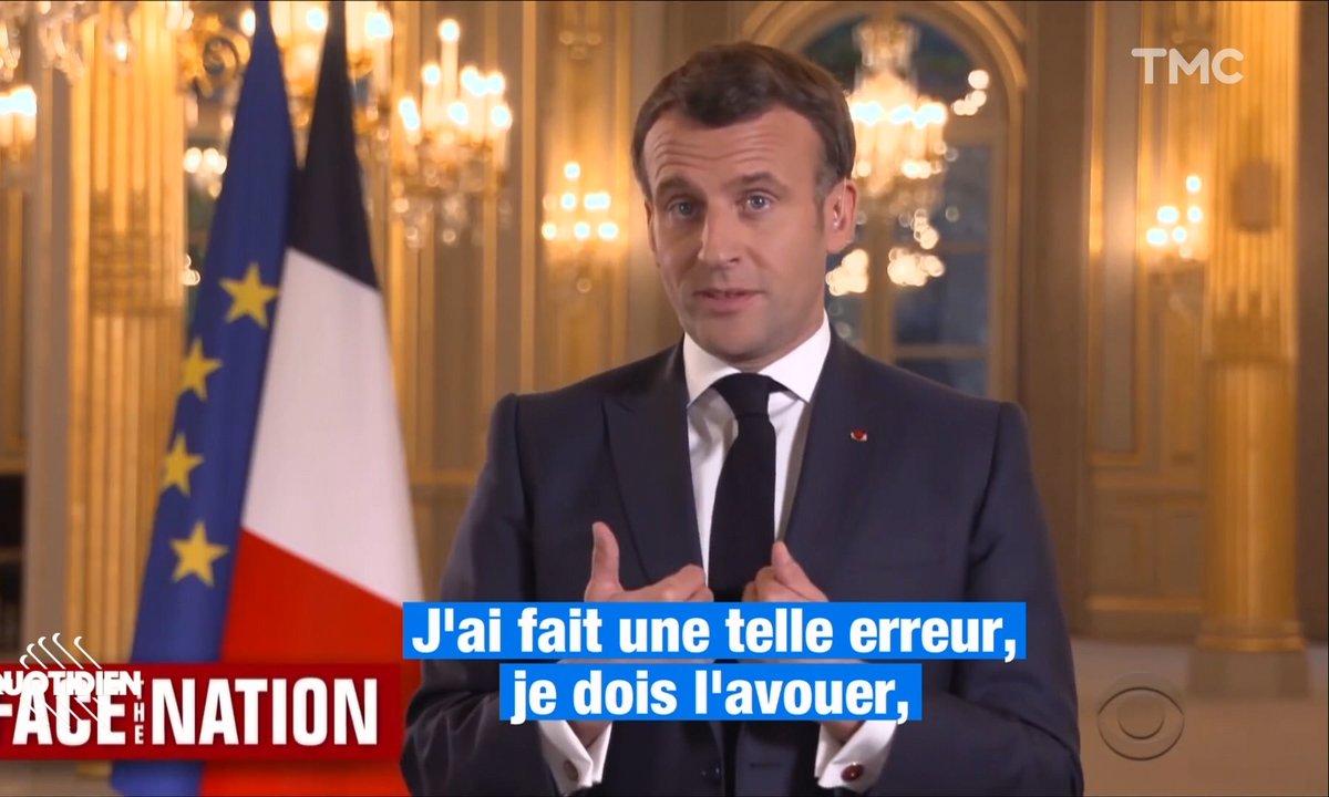 """Profession président – Alerte : Macron reconnaît une """"erreur"""" dans sa gestion des gilets jaunes"""