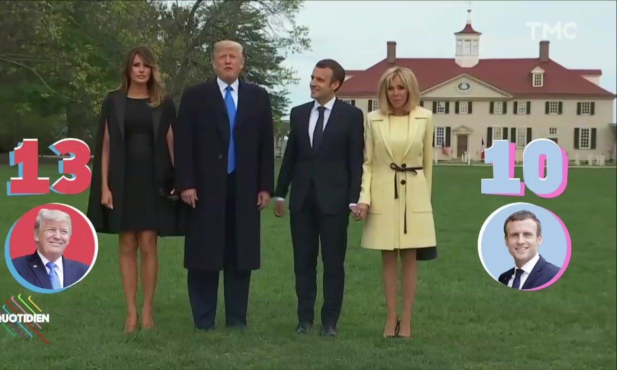 Profession Président : bataille d'égos entre Macron et Trump